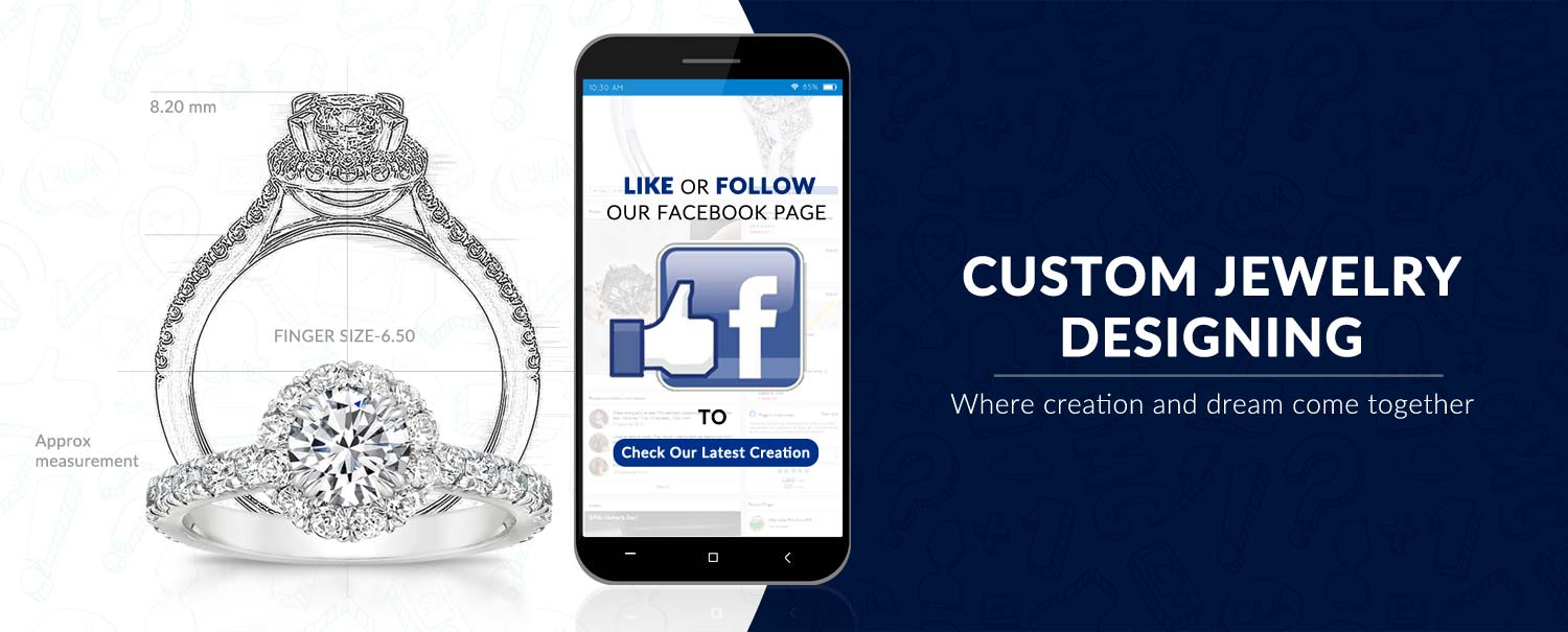 Follow Hinz Jewelers On Facebook For Latest Custom Creations