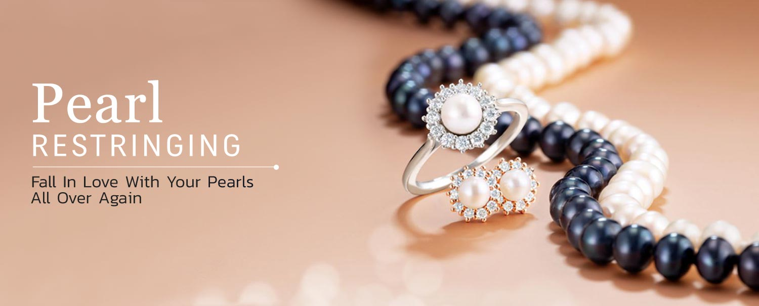 Pearl Restringing Service At Hinz Jewelers